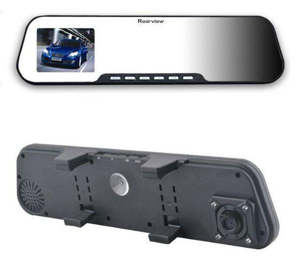 Kamerka samochodowa FX501 widok